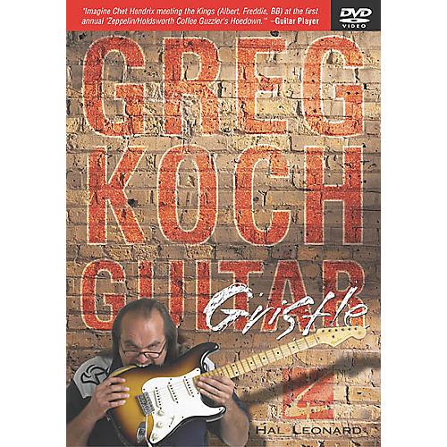 Hal Leonard Greg Koch - Guitar Gristle (DVD) thumbnail