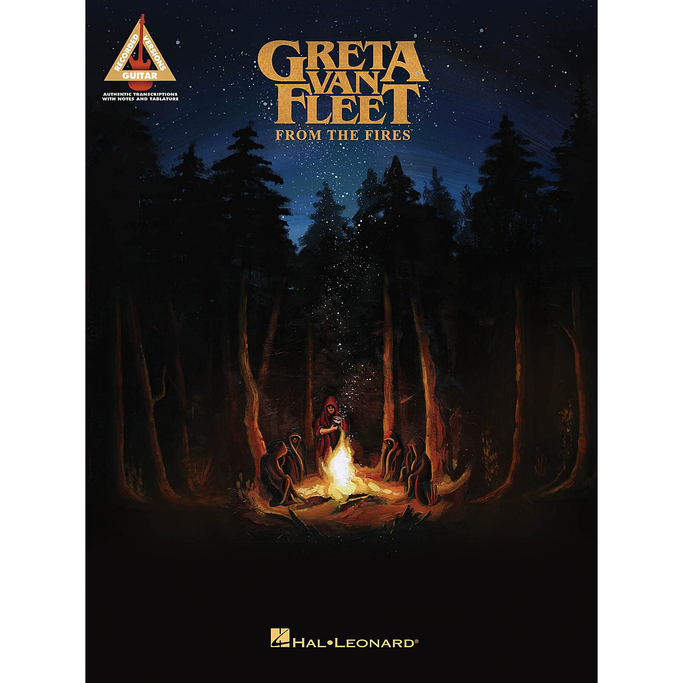 Hal Leonard Greta Van Fleet - From the Fires Guitar Tab Songbook thumbnail