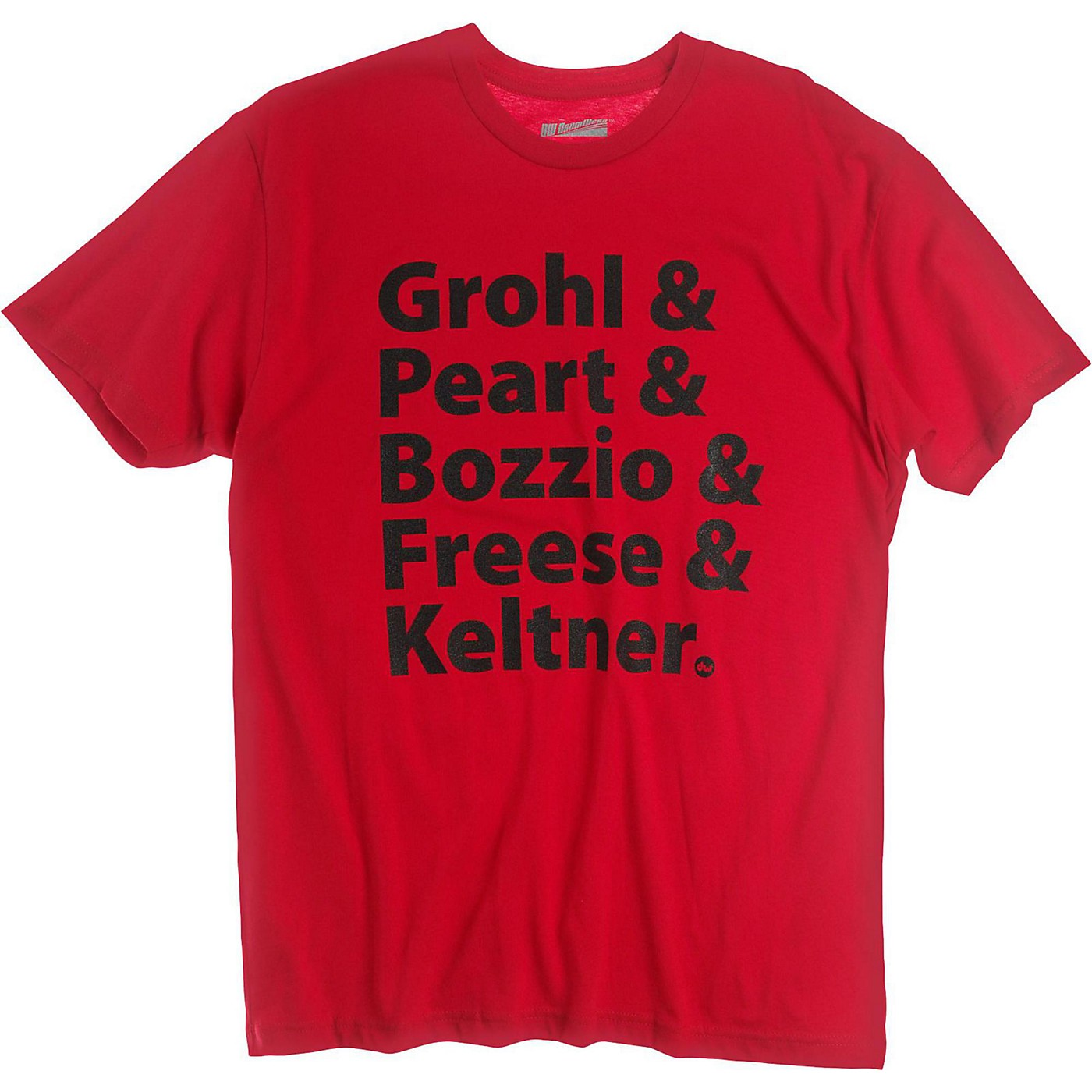 DW Grohl and Peart Artists T-Shirt Red thumbnail