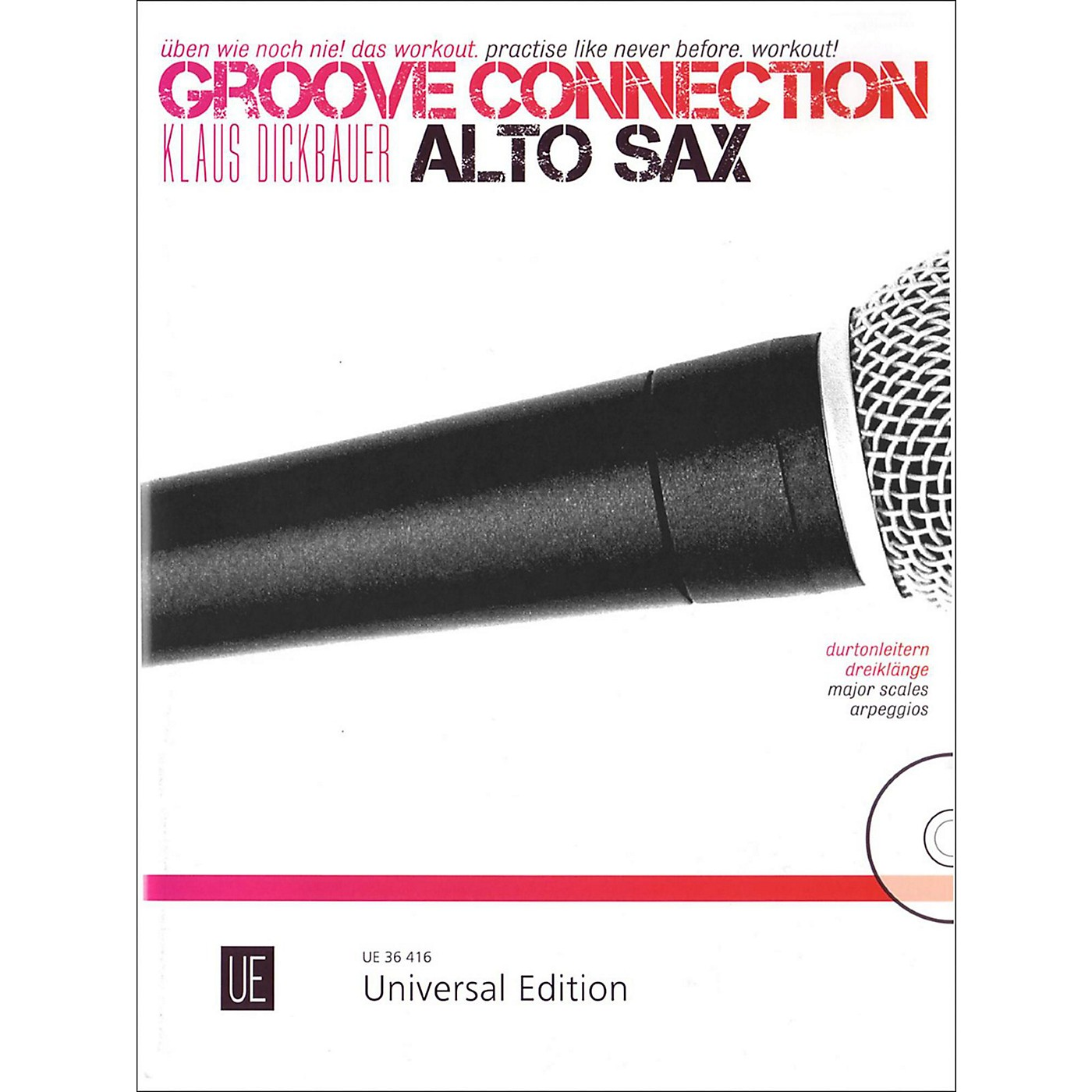 Carl Fischer Groove Connection Score and CD - Alto Sax thumbnail