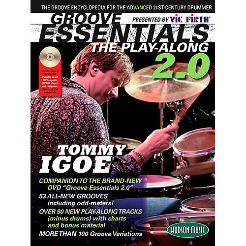 Hudson Music Groove Essentials 2.0 Tommy Igoe - Over 100 Grooves Book/CD thumbnail