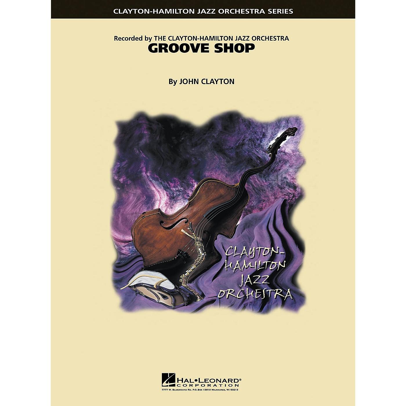 Hal Leonard Groove Shop Jazz Band Level 5 Composed by John Clayton thumbnail