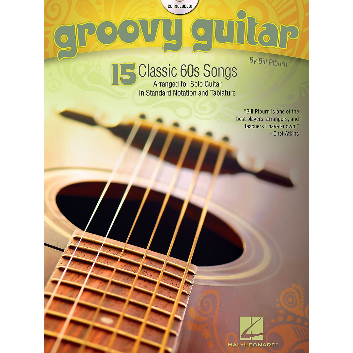 Hal Leonard Groovy Guitar (15 Classic '60 Songs) Guitar Solo Series Softcover with CD Performed by Various thumbnail