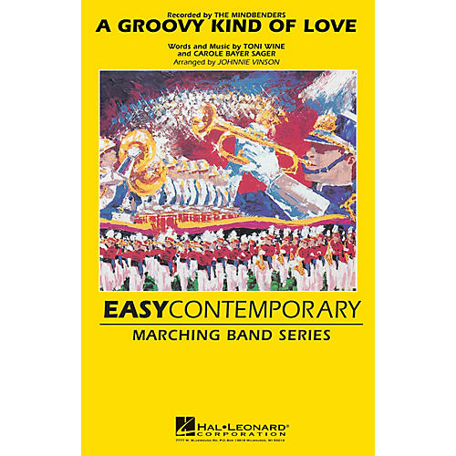 Hal Leonard Groovy Kind of Love Marching Band Level 2-3 Arranged by Johnnie Vinson thumbnail