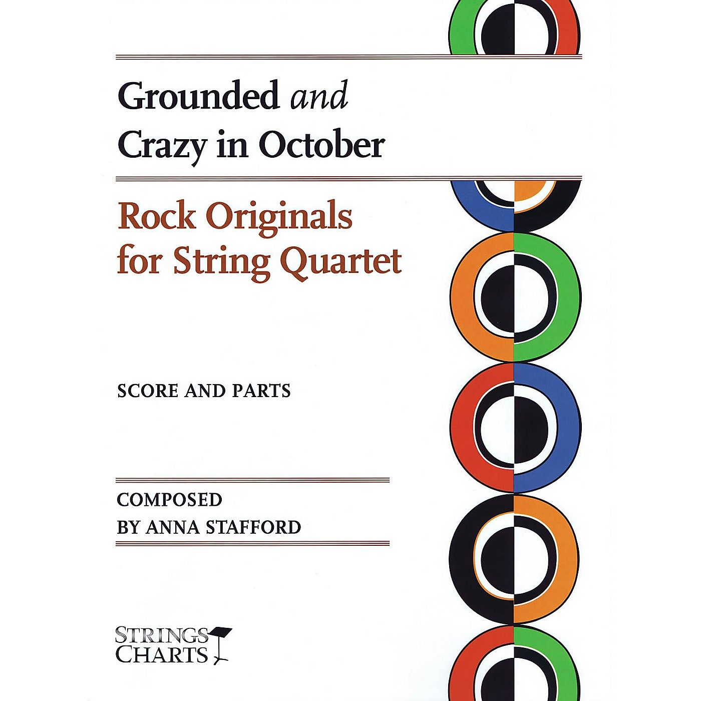 String Letter Publishing Grounded and Crazy in October String Letter Publishing Series Slick Wrap Composed by Anna Stafford thumbnail