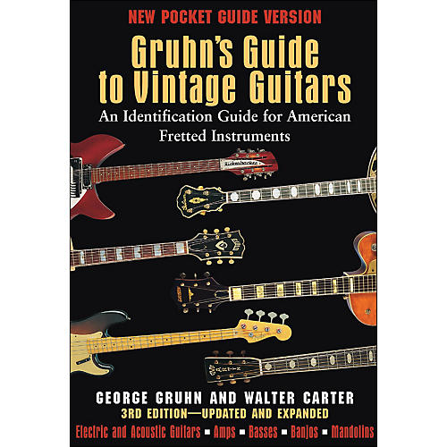 Backbeat Books Gruhn's Guide To Vintage Guitars - Pocket Edition thumbnail