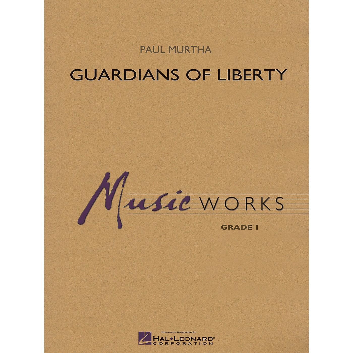 Hal Leonard Guardians of Liberty Concert Band Level 1.5 Arranged by Paul Murtha thumbnail