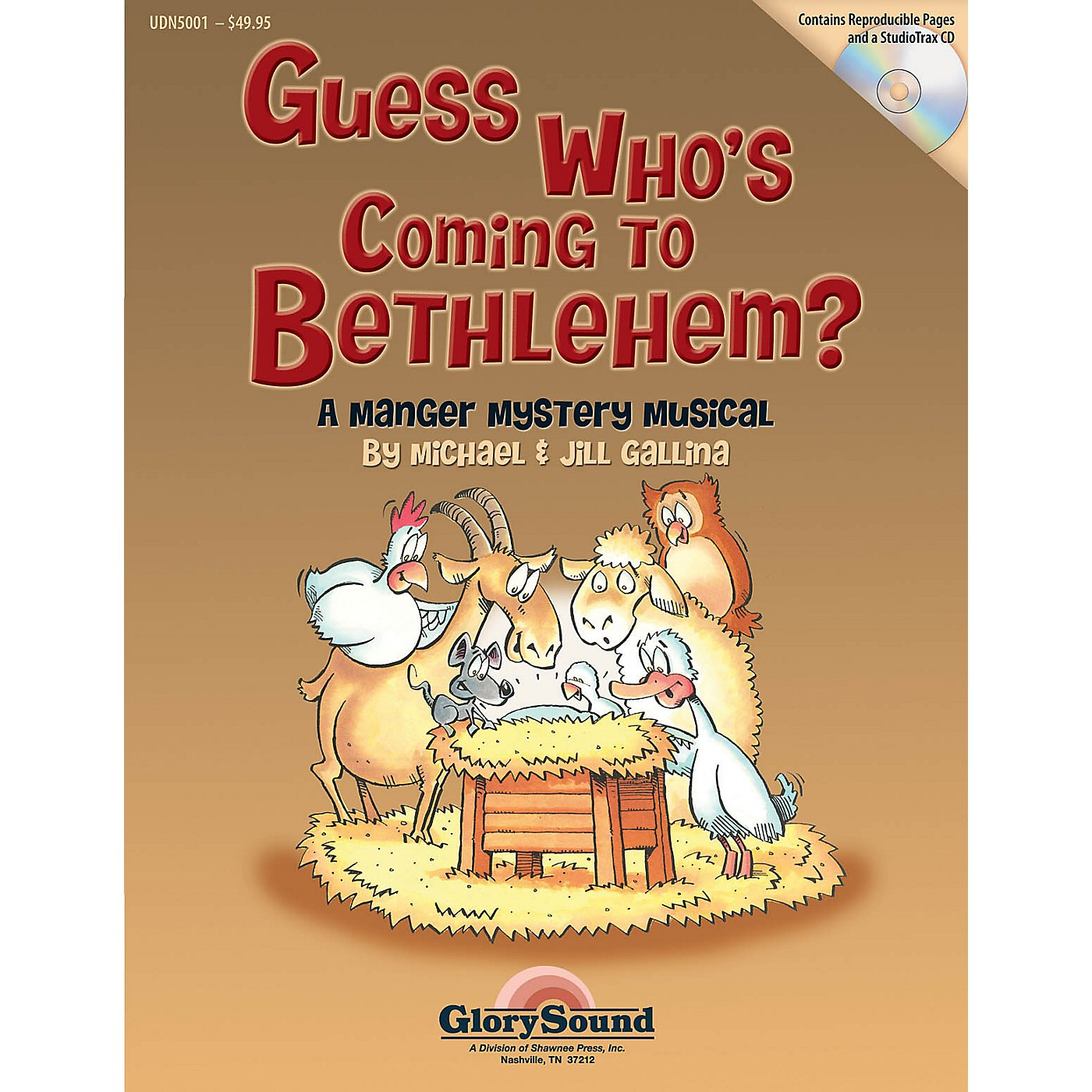 Shawnee Press Guess Who's Coming to Bethlehem? Preview Pak Composed by Jill Gallina thumbnail