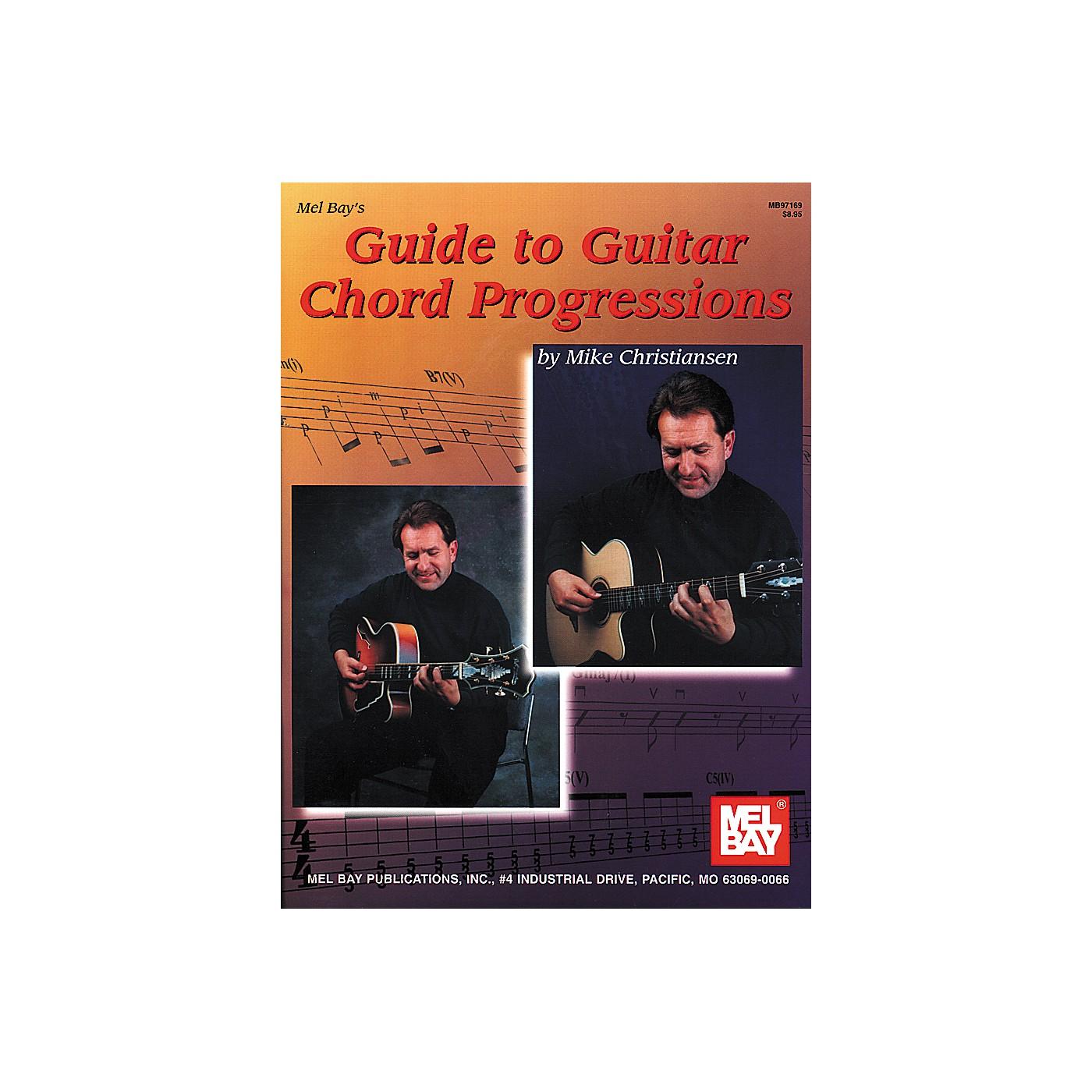 Mel Bay Guide To Guitar Chord Progressions Book thumbnail