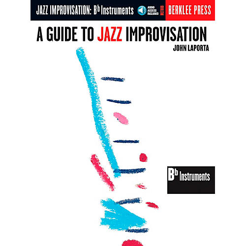 Berklee Press Guide To Jazz Improvisation B Flat Edition Book/CD thumbnail