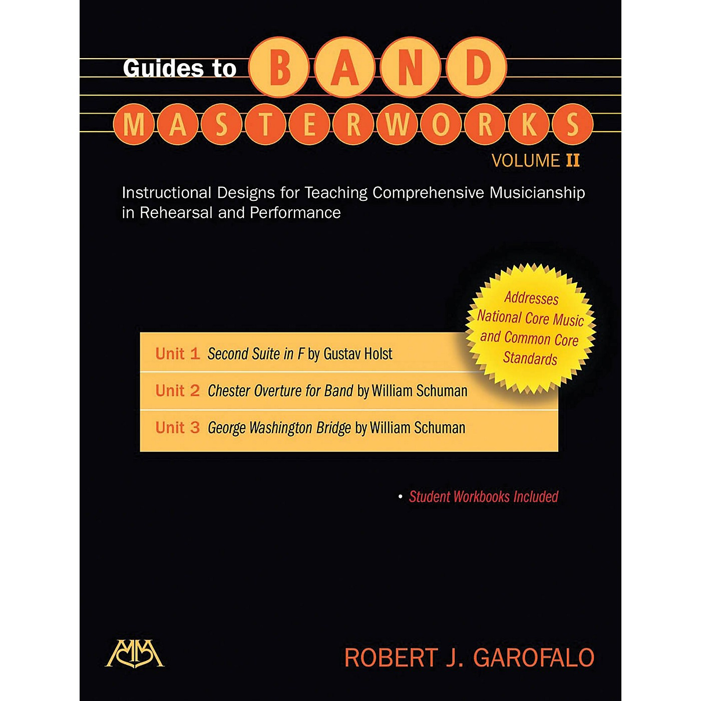Meredith Music Guides to Band Masterworks - Volume II (Revised Edition) Concert Band Composed by Robert Garofalo thumbnail
