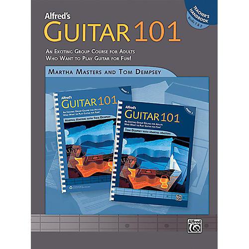 Alfred Guitar 101 Book 1 & 2 Teacher's Handbook thumbnail