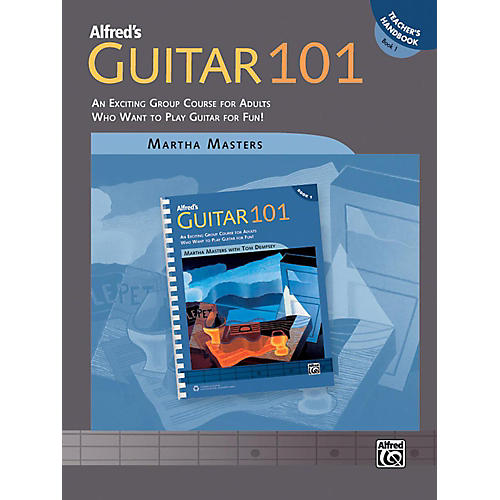 Alfred Guitar 101 Book 1 Teacher's Handbook thumbnail