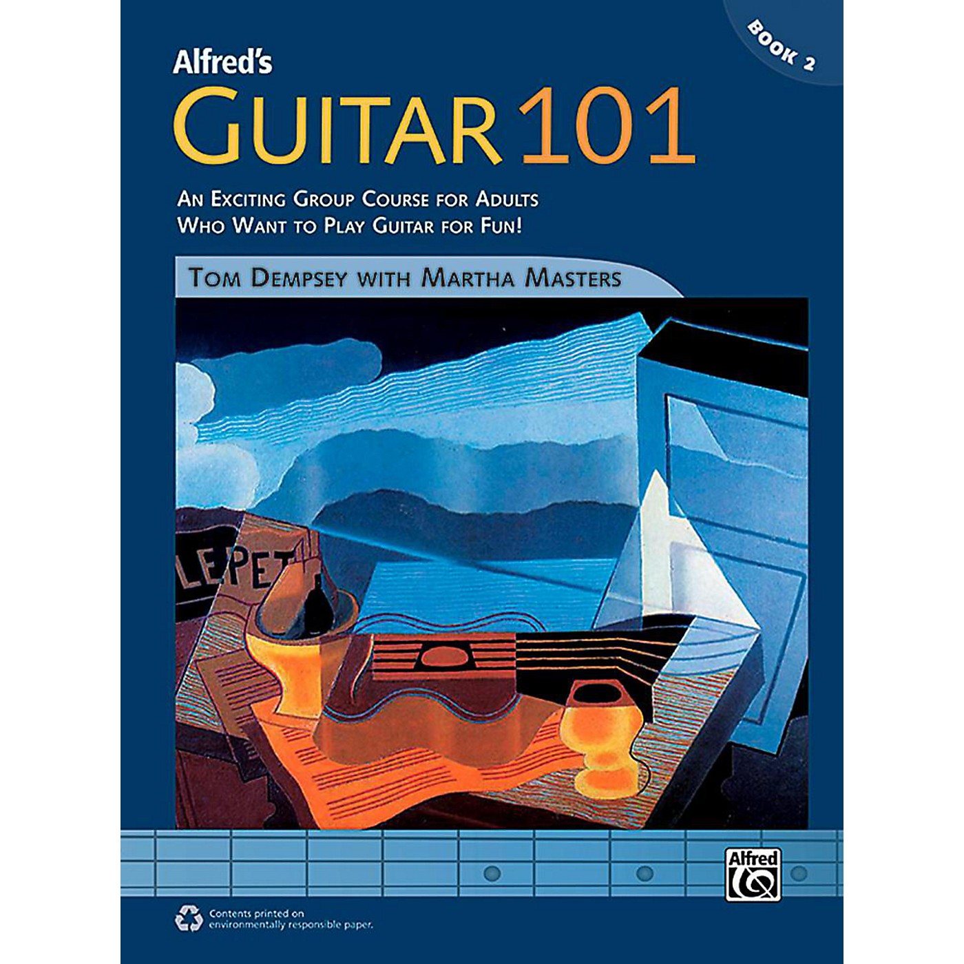Alfred Guitar 101, Book 2 - Comb Bound Book thumbnail