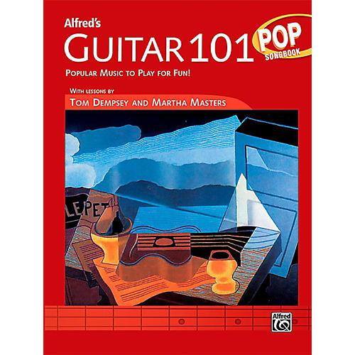 Alfred Guitar 101 Pop Songbook thumbnail