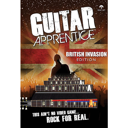 Hal Leonard Guitar Apprentice British Invasion (DVD) thumbnail