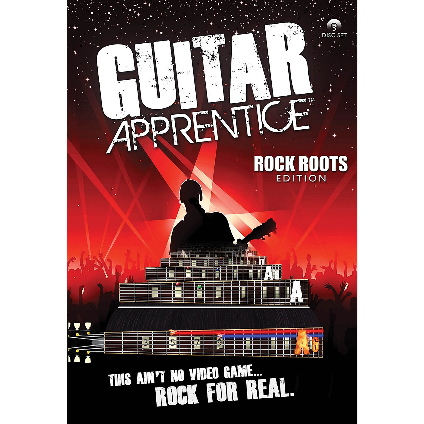 Hal Leonard Guitar Apprentice Rock Roots DVD thumbnail