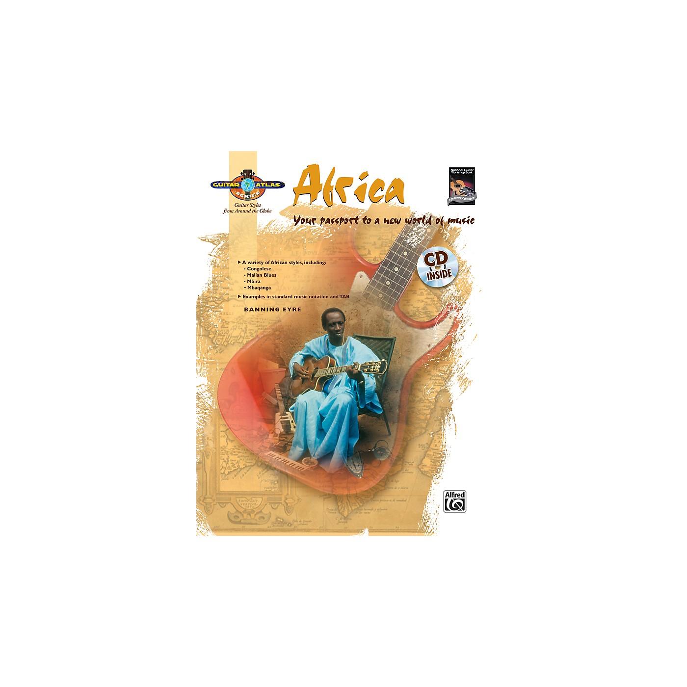 Alfred Guitar Atlas: Africa (Book/CD) thumbnail