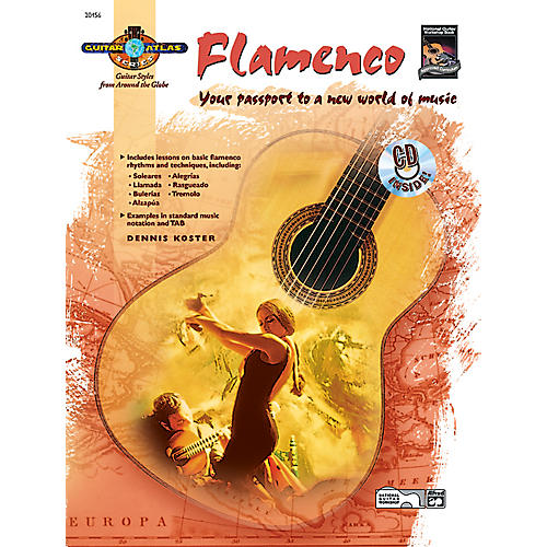 Alfred Guitar Atlas: Flamenco (Book/CD) thumbnail