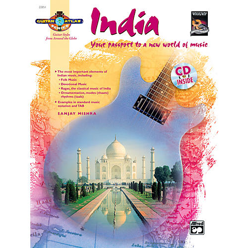 Alfred Guitar Atlas: India (Book/CD) thumbnail
