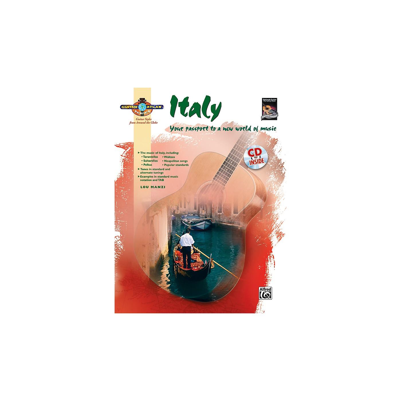 Alfred Guitar Atlas: Italy (Book/CD) thumbnail