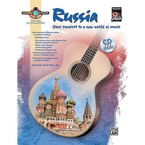 Alfred Guitar Atlas: Russia (Book/CD) thumbnail