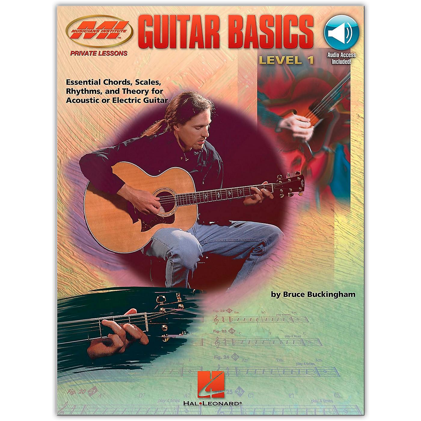 Hal Leonard Guitar Basics (Book/Online Audio) thumbnail
