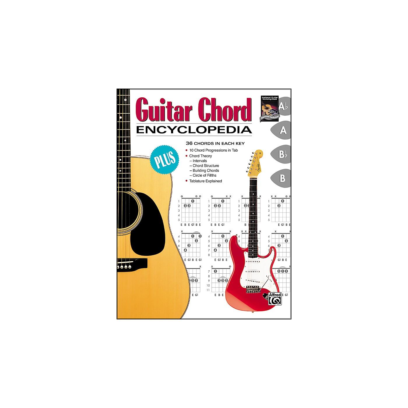 Alfred Guitar Chord Encyclopedia thumbnail
