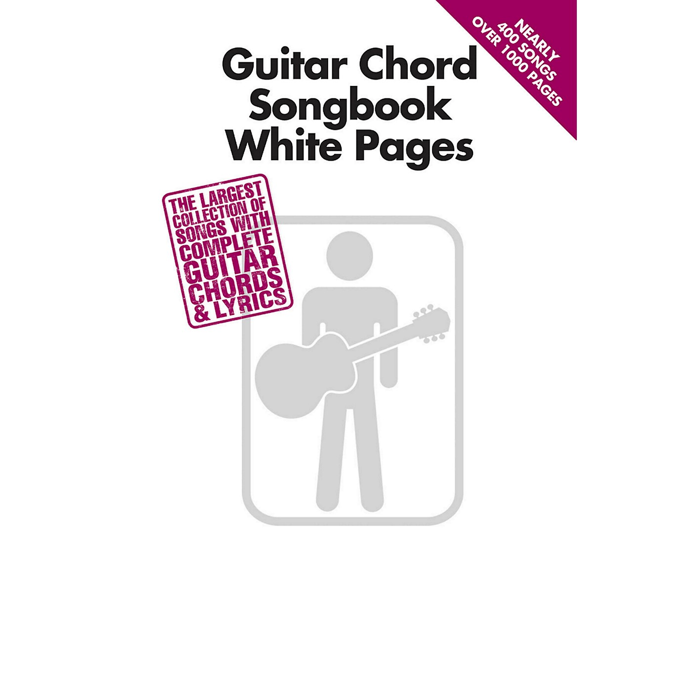Hal Leonard Guitar Chord Songbook White Pages thumbnail