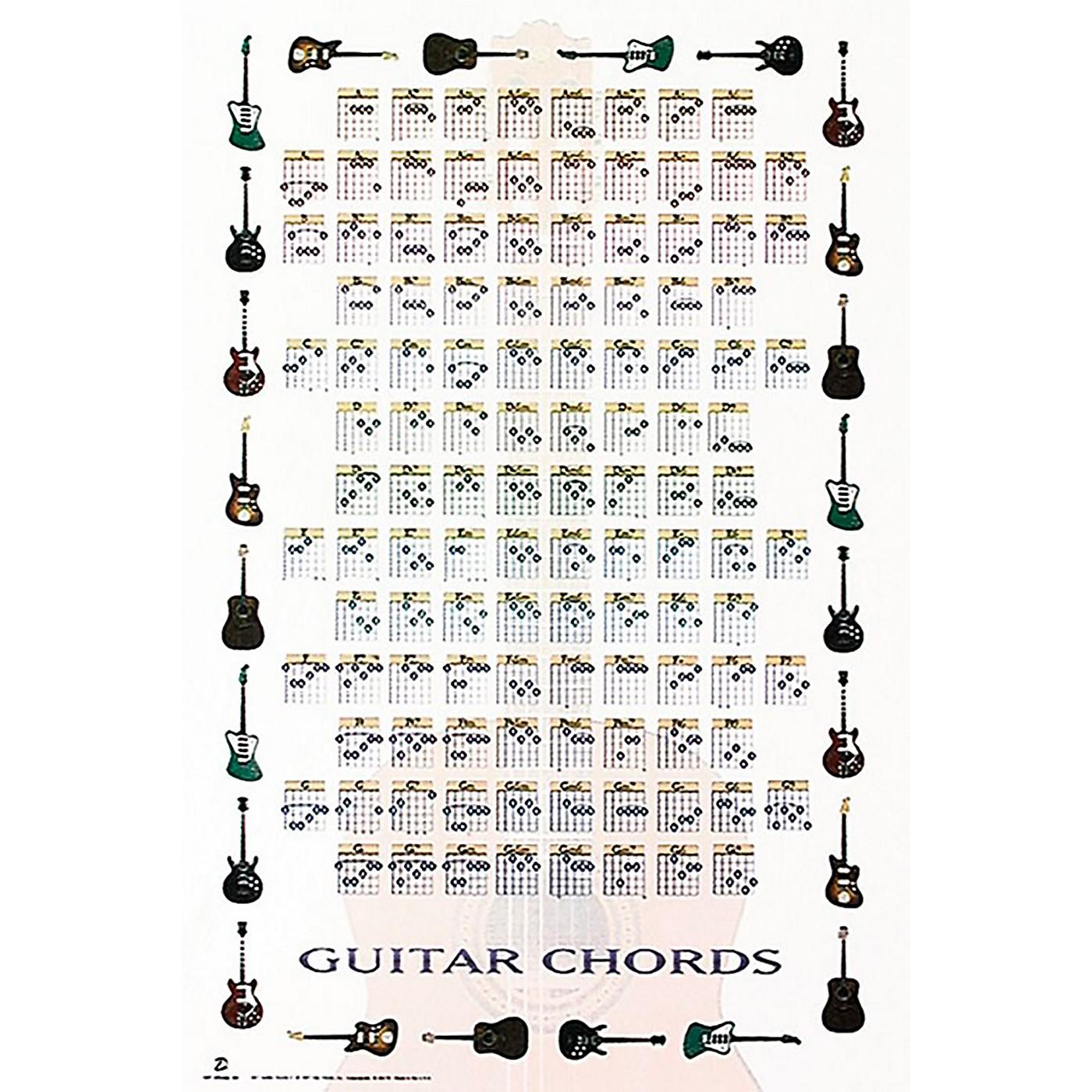 Trends International Guitar Chords 2 Poster thumbnail