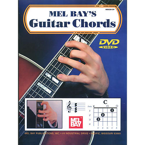 Mel Bay Guitar Chords Book & CD thumbnail