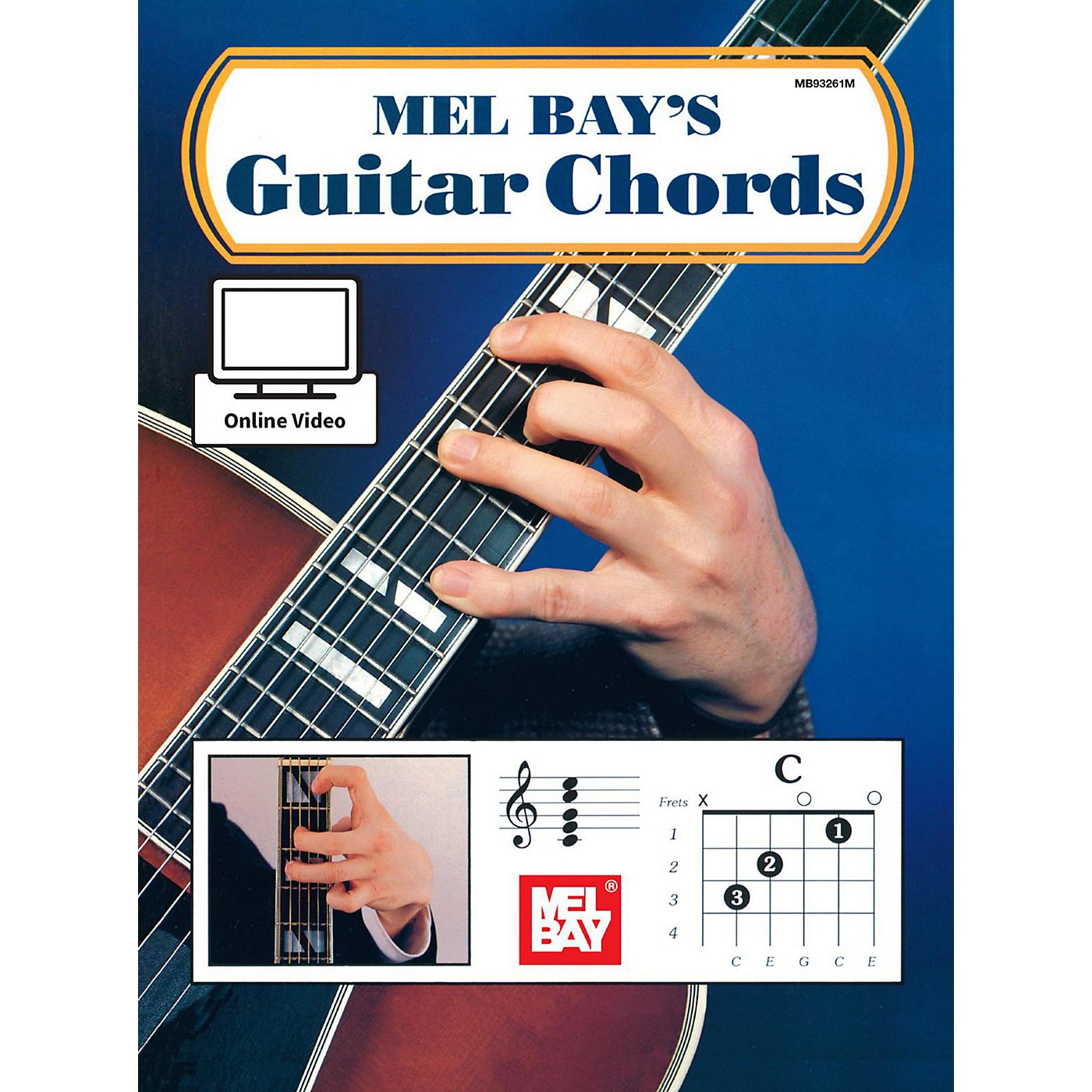 Mel Bay Guitar Chords Book & Online Audio thumbnail