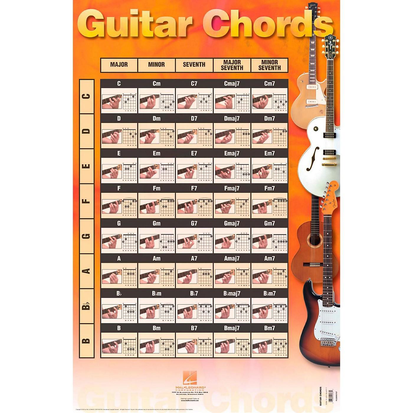 Hal Leonard Guitar Chords (Poster) thumbnail