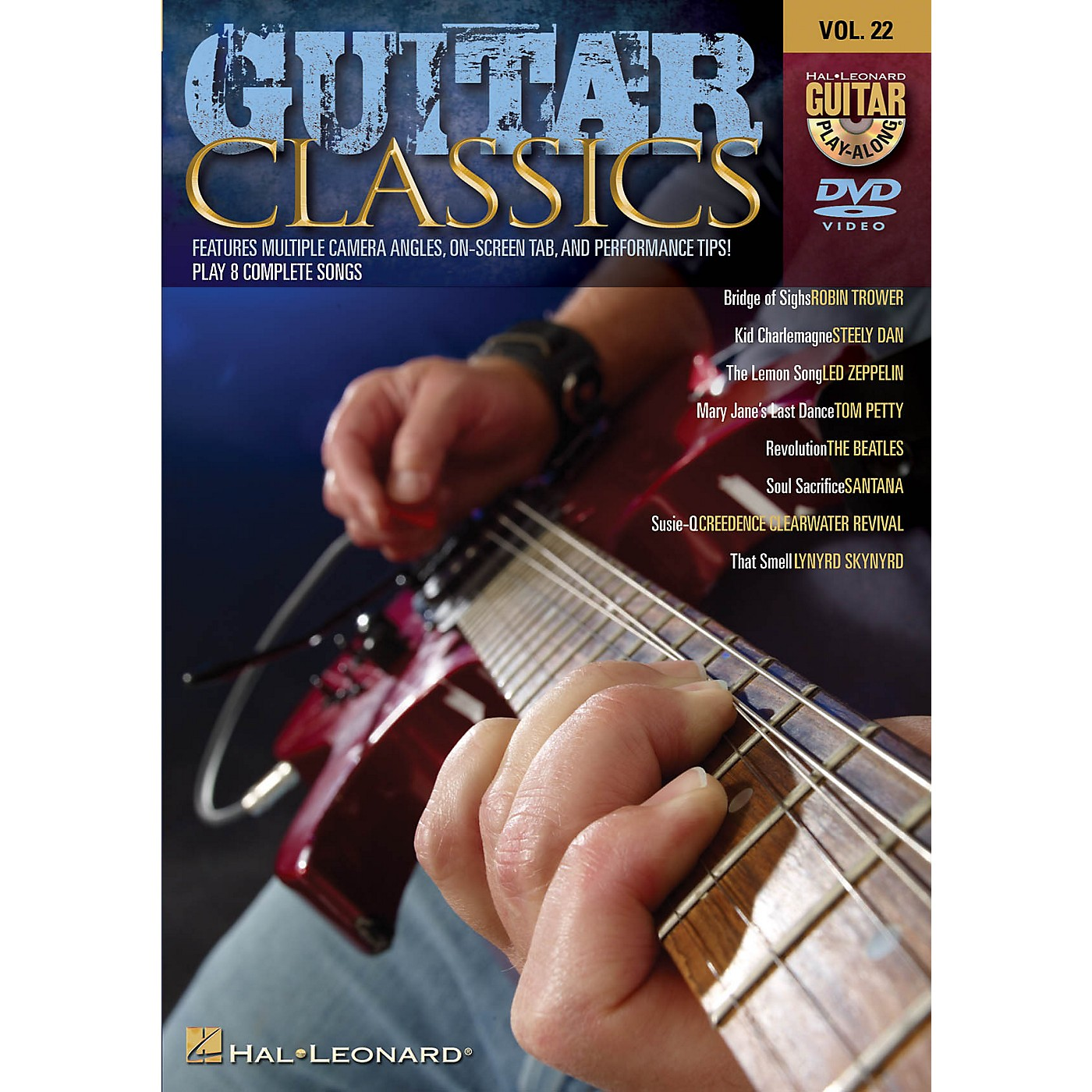 Hal Leonard Guitar Classics (Guitar Play-Along DVD Volume 22) Guitar Play-Along DVD Series DVD Performed by Various thumbnail