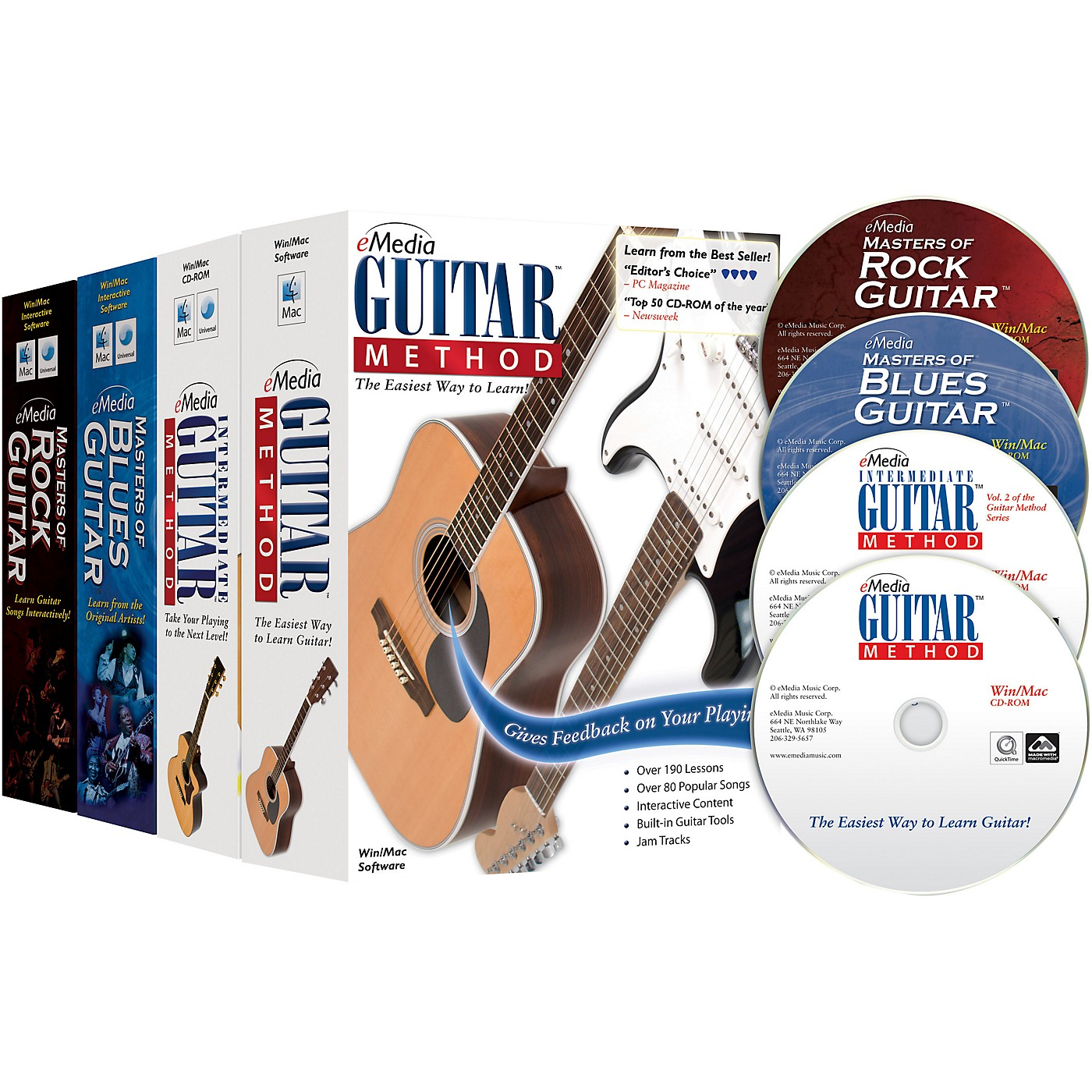 eMedia Guitar Collection (2018 Edition) - 4 Volume Set thumbnail
