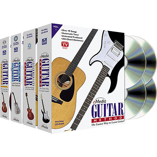 Emedia Guitar Collection 4 CD-ROM Set-thumbnail