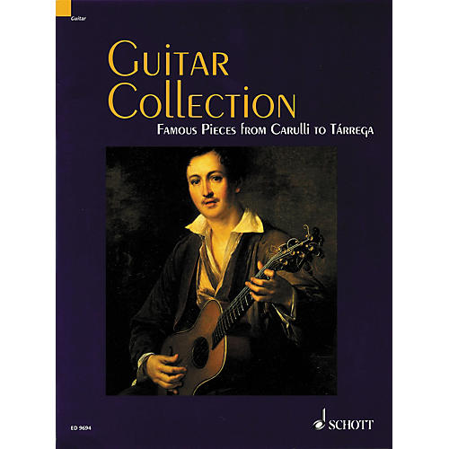 Schott Guitar Collection Famous Pieces from Carulli to Tarrega Standard Notation-thumbnail