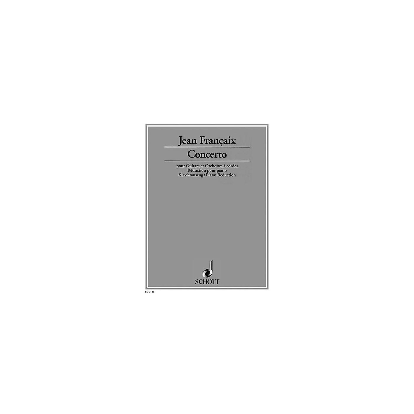 Schott Guitar Concerto 1982 (Guitar with Piano Reduction) Schott Series thumbnail