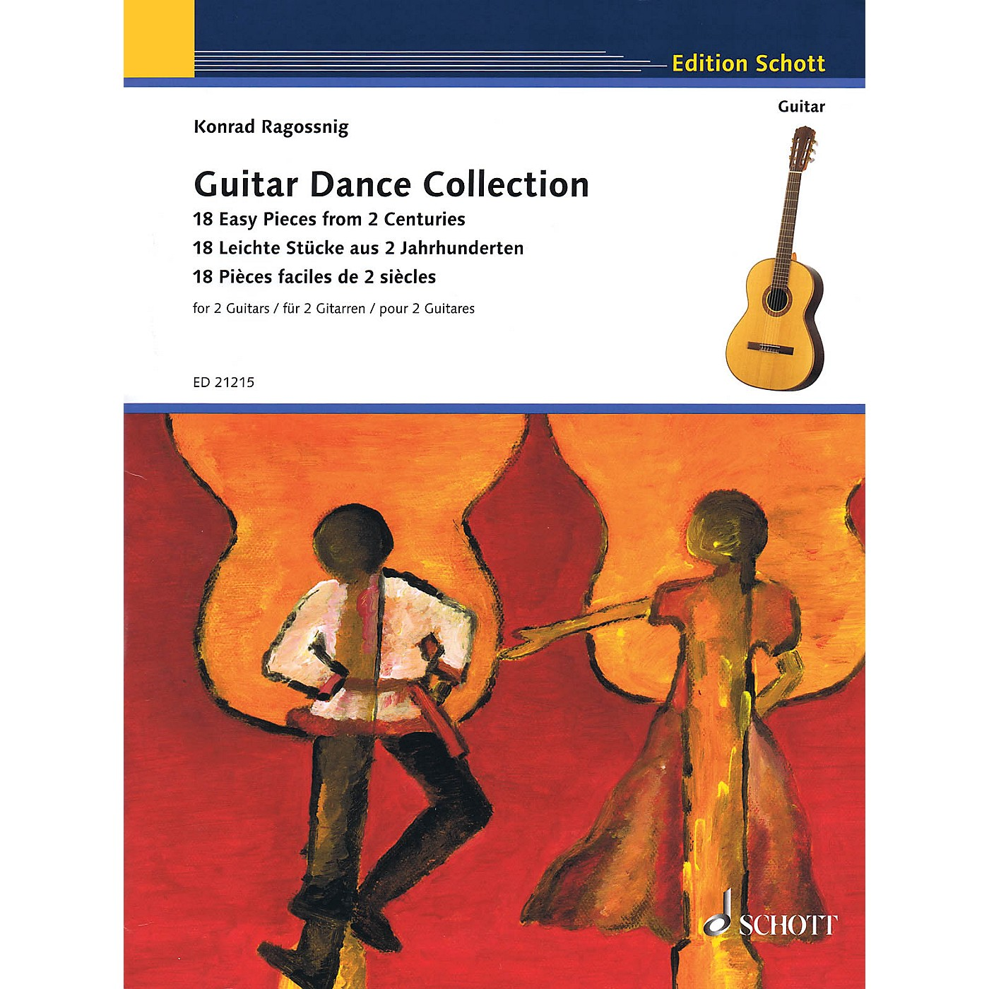 Schott Guitar Dance Collection Schott Series Softcover Composed by Various thumbnail