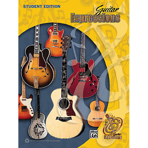 Alfred Guitar Expressions Student Edition (Revised) Book thumbnail