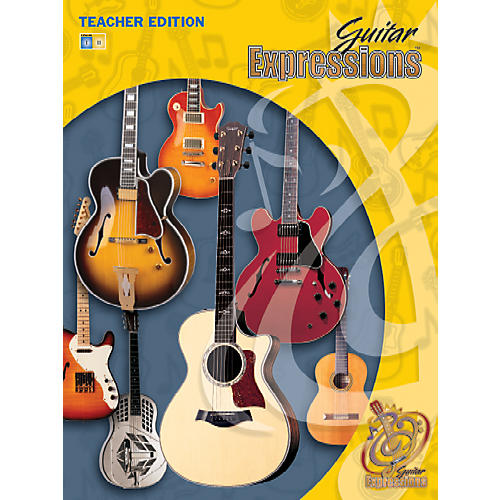 Alfred Guitar Expressions Teacher Edition Volume I Book CD & CD-ROM thumbnail