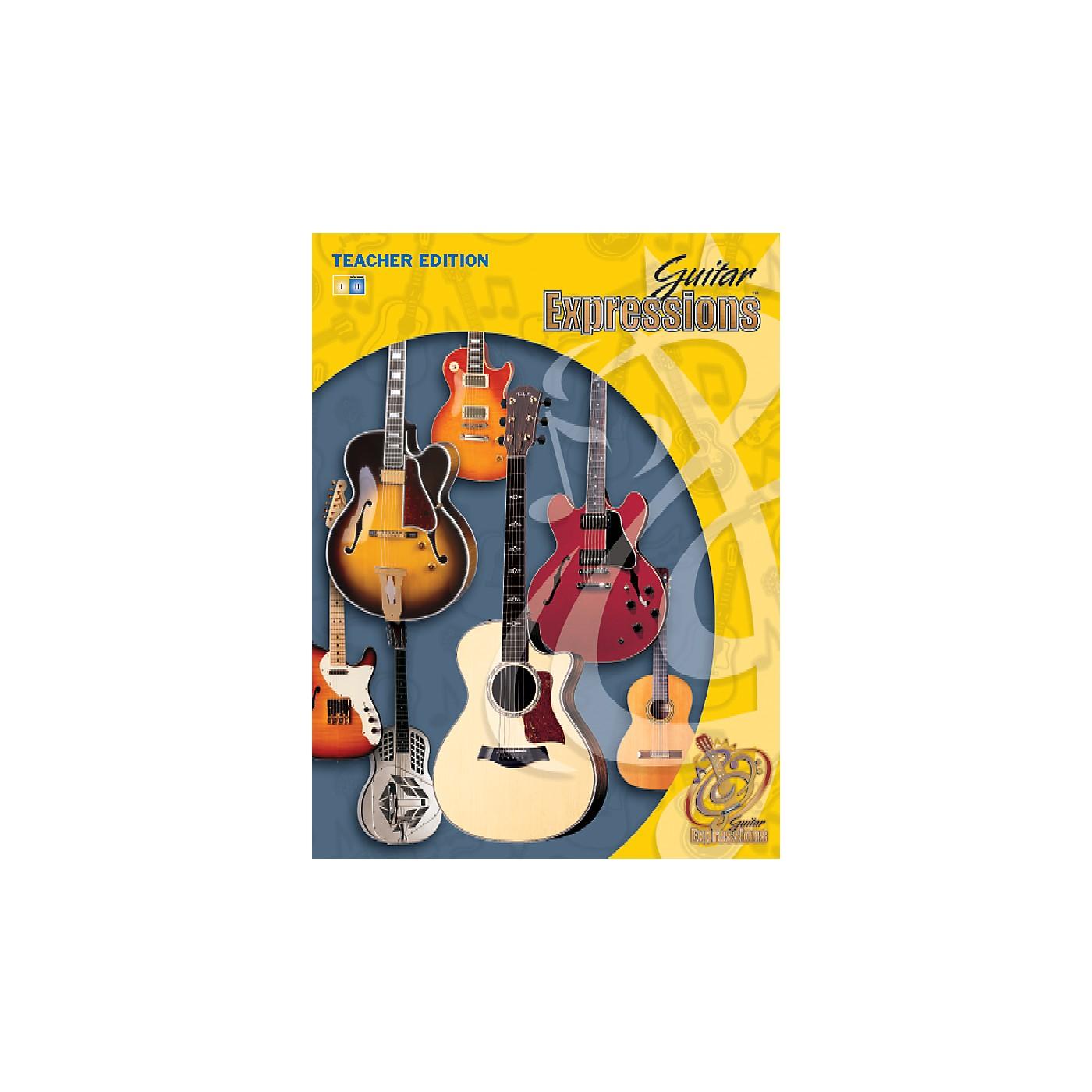 Alfred Guitar Expressions Teacher Edition Volume II Book CD & CD-ROM thumbnail