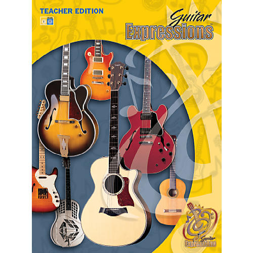 Alfred Guitar Expressions Teacher Edition Volume II Book CD & CD-ROM-thumbnail