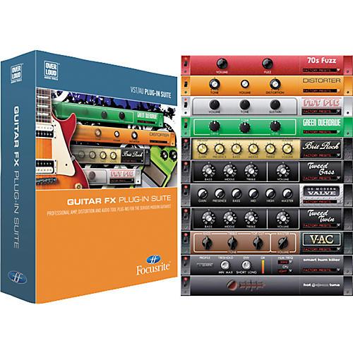 Focusrite Guitar FX Suite Software Plug-Ins-thumbnail