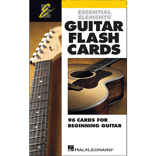 Hal Leonard Guitar Flash Cards - Essential Elements Guitar Extras thumbnail