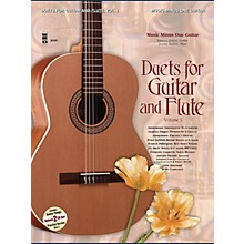 Music Minus One Guitar & Flute Duets - Vol. I (2-CD Set) Music Minus One Series Softcover with CD