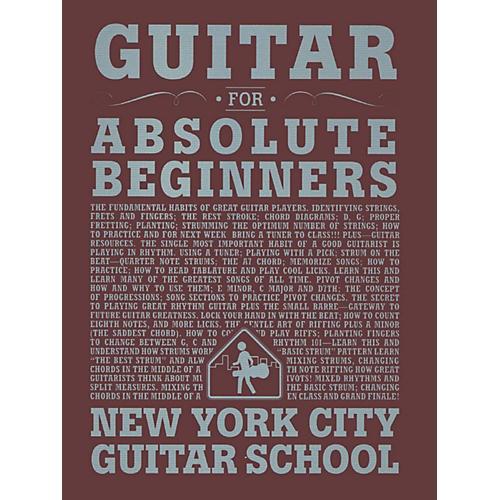 Carl Fischer Guitar For Absolute Beginners (Book) New York City Guitar School thumbnail