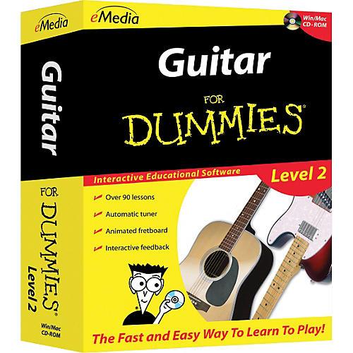 Emedia Guitar For Dummies Level 2 - CD-ROM-thumbnail