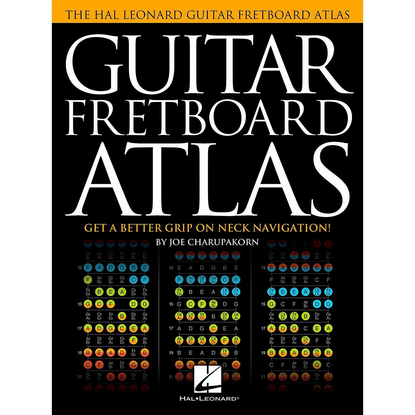 Hal Leonard Guitar Fretboard Atlas thumbnail