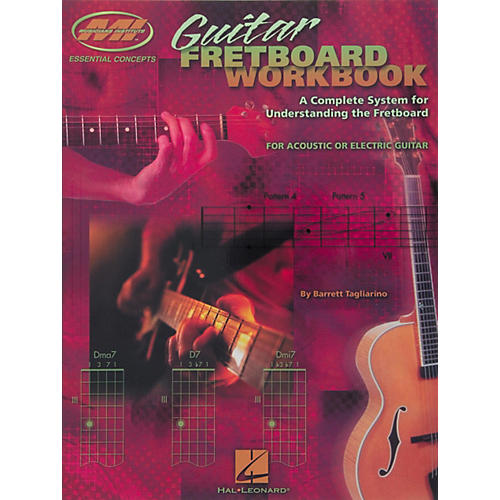 Musicians Institute Guitar Fretboard Workbook Book thumbnail